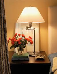 Small Bedroom Night Tables Side Table Lamps Pair Of Black Ceramic Bedside Table Lamps Full