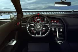 volkswagen golf gti 2015 interior vw golf design vision gti concept pictures details video