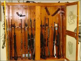 Plans For Gun Cabinet Oak Gun Cabinet Plans Home Design Ideas