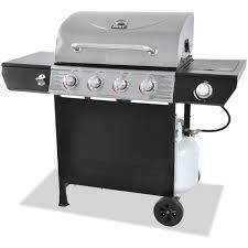 backyard grill 4 burner gas grill red walmart com