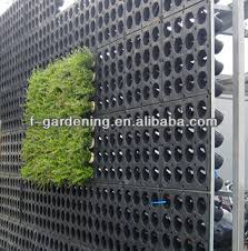 Vertical Garden Pot - new vertical wall planter plastic green wall planters living wall