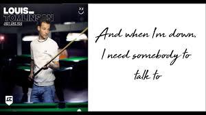 louis tomlinson just like you lyrics youtube louis tomlinson just like you lyrics