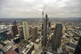 You Are A Grand Old Flag A New Skyscraper For Los Angeles Wilshire Grand Makes Its Debut