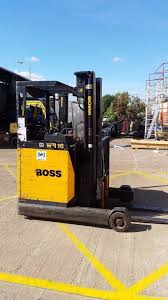 jungheinrich boss wr16 electric reach truck with sideshift