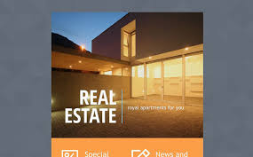 real estate agency responsive newsletter template 53671real