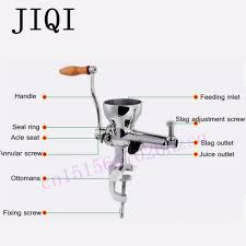 aliexpress com buy jiqi stainless steel hand wheatgrass juicer