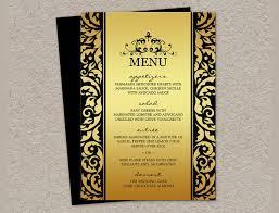 elegant dinner party menu ideas 24 dinner party menu psd word
