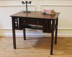 Arts And Crafts Writing Desk Small Desk Etsy