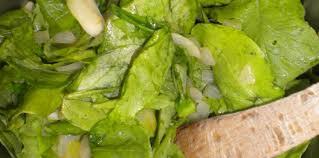 salade verte cuite recette cuisine salade cuite facile et pas cher recette sur cuisine actuelle