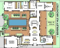 house plans with courtyard pools house plans with courtyard pool in the middle home deco plans