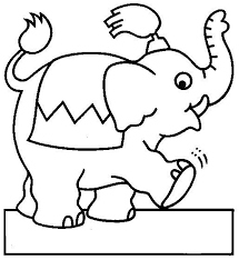 7 circo images coloring pages drawing