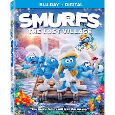 smurfs lost village blu ray digital walmart