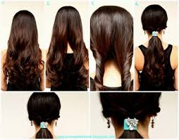 easy hairstyles for long straight hair to do yourself 17 best