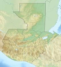 geographical map of guatemala guatemala physical map of guatemala