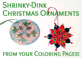 shrinky dink ornaments suziq creations