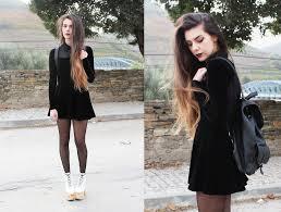claudia holynights asos shirt asos velvet dress calzedonia