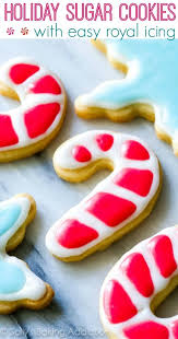 cut out sugar cookies with easy icing sallys baking
