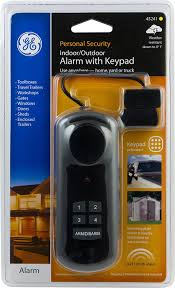 amazon com ge universal alarm with keypad magnetic contact 45241
