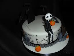 Halloween Cake Decorations Edible by Nightmare Before Christmas Birthday Cake Cakecentral Com