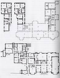 english manor floor plans plan thoresby hall merevale each demonstrating communal nineteenth