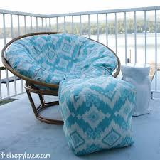 papasan chair cover how to sew a diy papasan chair cover the happy housie