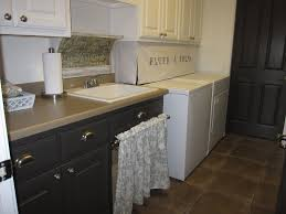 How To Hide Washer And Dryer by The Decorating Duchess Softening It Up With Some Fabric