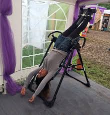 back pain worse after inversion table bradley cooper and eva mendes hang upside down to relieve back pain