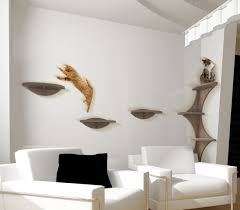 Wall Shelves For Cats Vertical And Horizontal Surfaces To Climb Cats Are Naturally