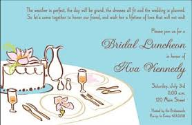 bridal luncheon wording bridal luncheon invitations kawaiitheo