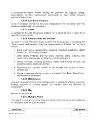 hcc procurement procedures u0026 policies manual