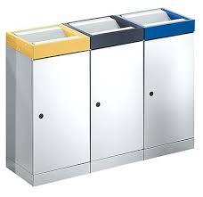poubelle cuisine 60l poubelles poubelle trois compartiments 4 cuisine 3 poubelle 3