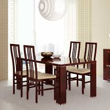 mahogany dining room table charme mahogany modern dining table