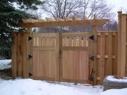 wood privacy fence in st paul lakeville twin cities woodbury