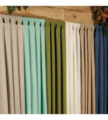 Curtains With Tabs Best Outdoor Drapes Sunbrella Curtains In Lots Of Colors Patio