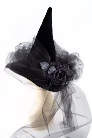 vintage witch costume black magic woman witch hat by hoho hats halloween pinterest
