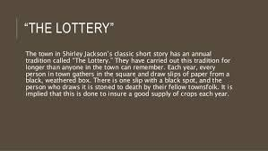 themes in the story the lottery literary analysis essay on the lottery by shirley jackson research