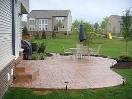 Average Price For Concrete Patio Average Cost Of A Patio Interior Home Design
