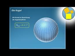 kugeloberfl che berechnen kugel oberfläche geometrie rueff