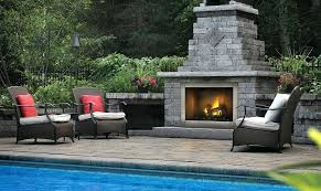 Outdoor Propane Gas Fireplace - external gas fireplace riverside clean face outdoor gas fireplace