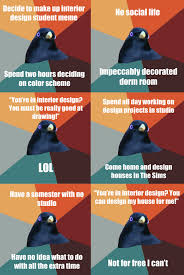 Design A Meme - interior design student bowerbird by lady of coralstair on deviantart