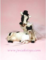 bulldog cake topper farm animals and groom wedding cake toppers