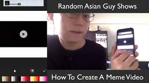 Create Meme From Image - how to create a meme video youtube