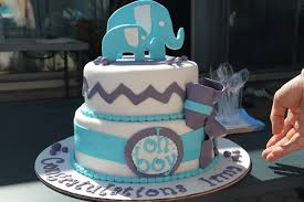 adorable elephant themed baby shower cakes by cathy chicago