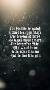 Lyrics For Comfortably Numb Best 25 Numb Song Ideas On Pinterest Numb Lyrics Linkin Park