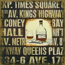 wall decor for home bar urban wall art mixed media time to unwind whiskey scotch subway