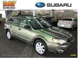 subaru green 2007 subaru outback 2 5i wagon in willow green opal 343388