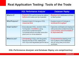oracle 11g real application testing avoiding performance