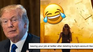 Memes Twitter - trump s twitter account got deleted for 11 minutes and the memes