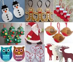 christmas decorations wholesale new hot sale china product handmade fabric birds ornament kid gift