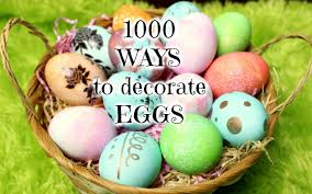 1000 ways to decorate easter eggs youtube